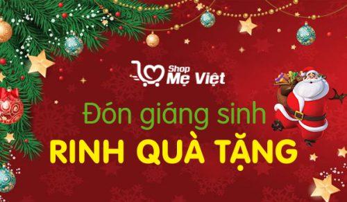 Chương Trình Giao quà Ông Già Noel miễn phí tại Shop Mẹ Việt 2020