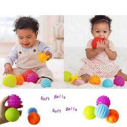 Set 4 bóng nắm kích thích xúc giác Ball Sensory Set