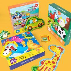 Đồ chơi Lắp ghép My Best Puzzle – Động vật nuôi