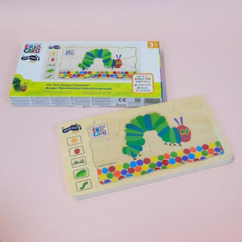 Đồ chơi lắp ghép nhiều tầng – Hungry Caterpillar