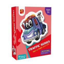 Đồ Chơi Lắp Ghép Lz 6 Patterns – Traffic Series LL102