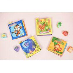 Sách Vải Đa Tương Tác Fabric Book Cho Bé 0-36 Tháng