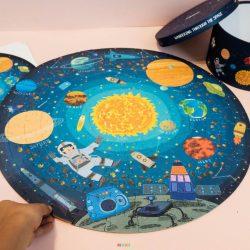 Đồ Chơi Lắp Ghép Tranh Mideer 150 Miếng – Space MD3082