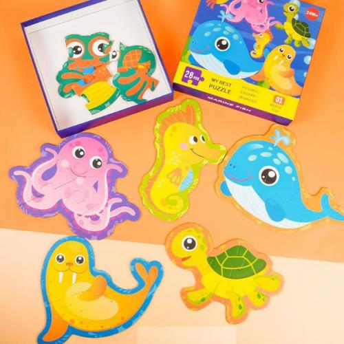 Đồ chơi Lắp ghép My Best Puzzle – Động vật biển 28