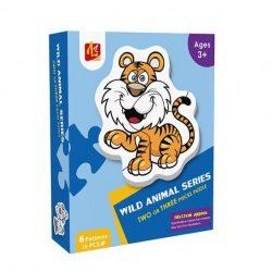 Đồ Chơi Lắp Ghép Lz 6 Patterns – Wild Animal Series LL107