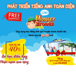 Monkey Stories-Ứng Dụng Phát Triển Toàn Diện Cho Bé