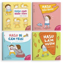Sách Ehon Những Câu Chuyện Kì Lạ Của Hasu ( Trẻ 0-6 Tuổi)