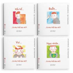 Sách Ehon Combo Điều Kỳ Diệu Của Cảm Xúc (0-6 Tuổi)