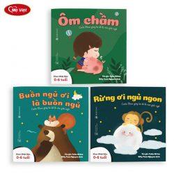 Sách Ehon – Combo 3 Cuốn Buồn Ngủ Ơi Là Buồn Ngủ