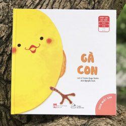 Cuốn Sách Ehon Kể Chuyện – Gà Con – Cho Bé 0-6 Tuổi