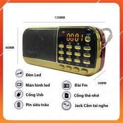 Loa Nghe Craven CR853  Cho Bé – 3 Pin Thẻ 8G Đầu Đọc