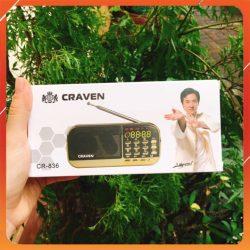 Loa Nghe Craven CR836S Tắm Ngôn Ngữ Cho Bé