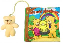 Sách Vải Pipo Rèn Luyện Kỹ Năng Một Ngày Của Gấu Boo