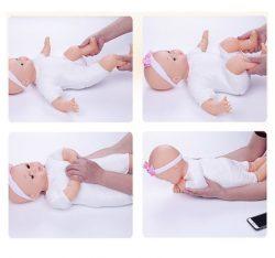 Búp Bê Massage Silicon Mô Phỏng Em Bé Sơ Sinh