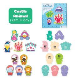 Đồ Chơi Xỏ Đây Cho Bé Lalala Baby-Castle+Animal
