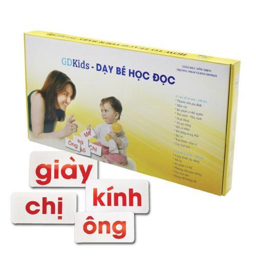 Thẻ Glenn Doman GDkids – Bộ 300 Thẻ Tiếng Việt