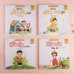 Bộ Cảm Xúc Của Con Sách Truyện Cho Bé 1 – 6 Tuổi