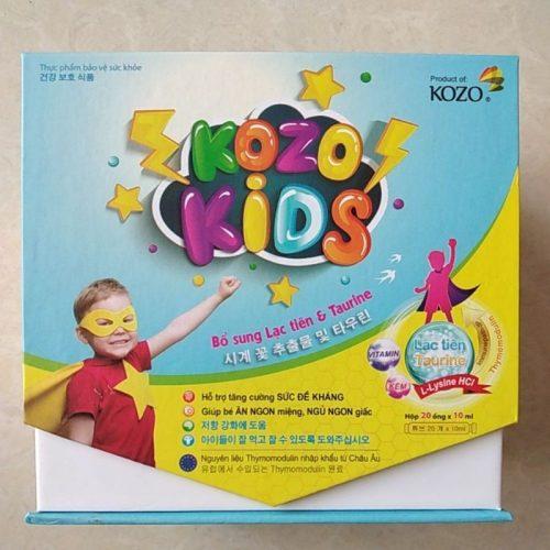 Combo 3 Hộp Sản Phẩm KOZO KIDS – Bé Tăng Sức Đề Kháng