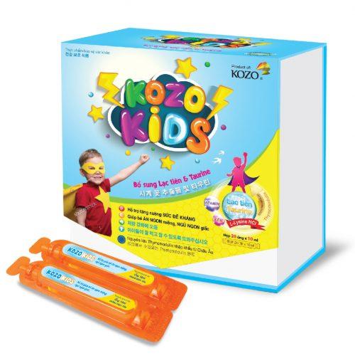 Sản Phẩm KOZO KIDS – Giúp Bé Tăng Sức Đề Kháng