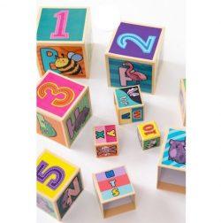 Tháp xếp chồng, đồ chơi Hình Khối cho bé